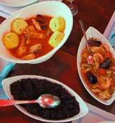 Risotto, bordet & paella at Srdela, Vrsar, Istria