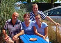 The Srdela team, Vrsar, Istria