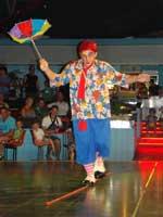 circus clown, Dinopark, Istria