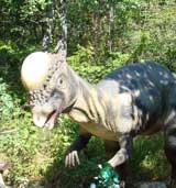 Cute dinosaur, Dinopark, Istria