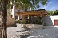 tasting area at Damjanic winery, Istria
