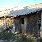 Derelict animal shed in Kovaci, Istria