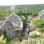 The streets of Dvigrad, Istria