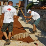 Gardeners start work in Kovaci Istria