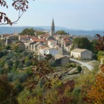 Draguc in Autumn - one of Istria's inland gems