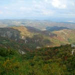 Gracisce's magnificent valley view in Istria
